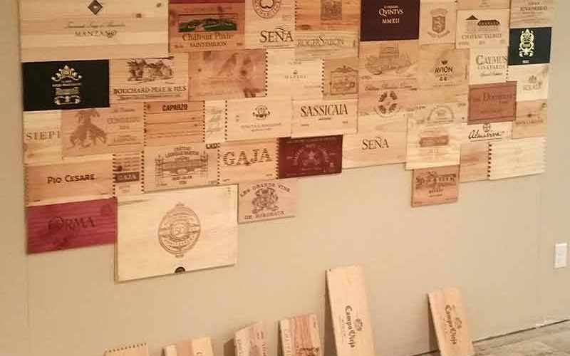 Wine Case Wall